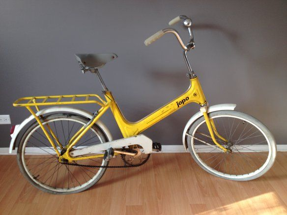 Rare Vintage JOPO Bicycle from Finland