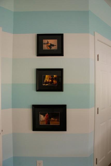 How to paint perfect stripes  honeyandfitz.blogspot.com