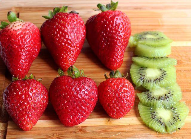 Strawberry Kiwi Smoothie Jessica Marie Design Protein