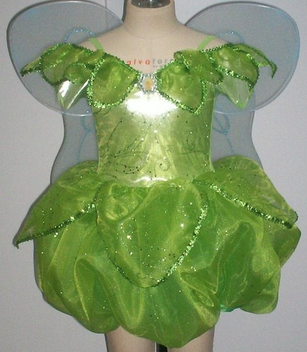 NWT Disney World Princess Peter Pan Fairy Tinkerbell Fancy Dress Costume 7 8 | eBay