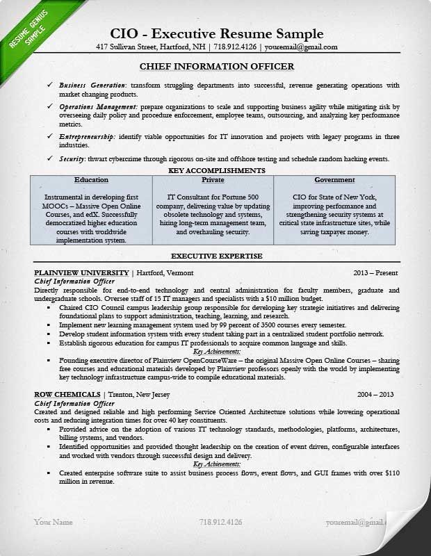 Resume Templates Executive Resumetemplates Executive Resume Template Executive Resume Resume Examples