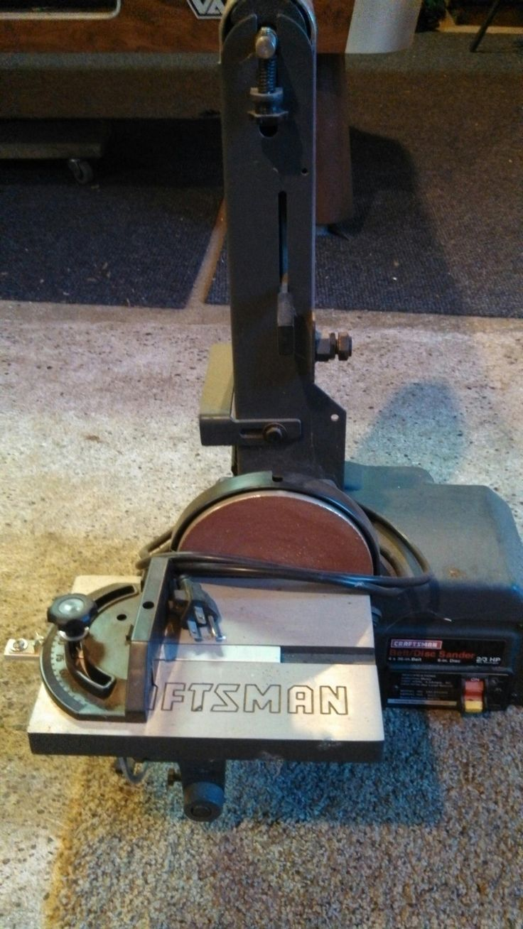 """Craftsman 4 x 36 - 6"""" Disk/Belt Sander in BeckyWes' Garage Sale in Luck , WI for $100.00. Craftsman 4 x 36 - 6"""" Disk/Belt Sander.� Only used a handful of times!� Like New!"""