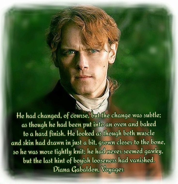 46 best outlander voyager images on pinterest jamie fraser he had changed of course fandeluxe Gallery
