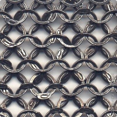 Мастер-класс Плетение: МК Кольчуга Проволока. Фото 1