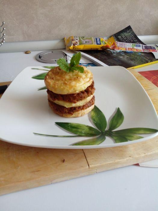 Le mini hachis parmentier vu par Pauline D avec la sauce façon tikka masala de #pataks