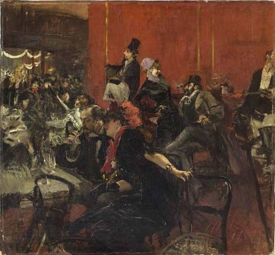 ジョヴァンニ・ボルディーニ 宴の情景