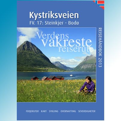 Travel guide #Kystriksveien - annual travel guide in Norwegian, English and German. This is the 2013 edition. Get it on www.kystriskveien.no
