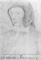 Louise of Savoy (1476-1531) Daughter of Philip II, Duke of Savoy and Margaret of Bourbon. Wife of Charles of Orleans