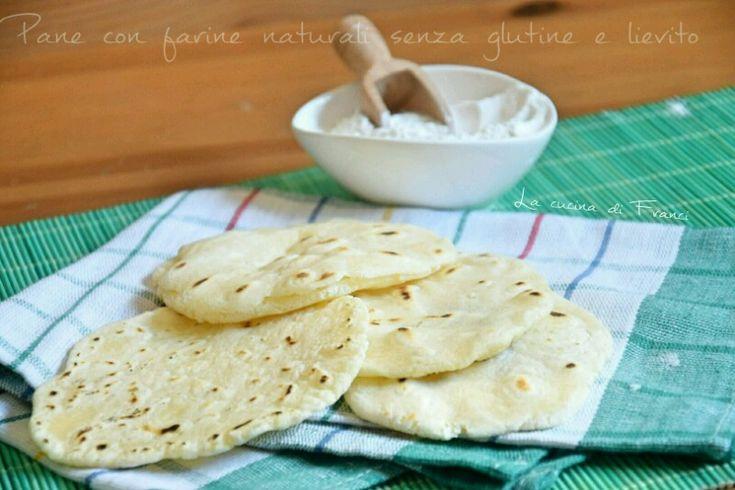 Pane senza glutine senza lievito con farine naturali
