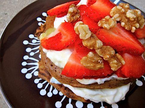 Oatmeal Cookie Pancake Sandwich. *drool*Oatmeal Cookies, Sandwiches Pbkmom, Eating Health, Healthy Eating, Pancakes Sandwiches For, Cookies Pancakes
