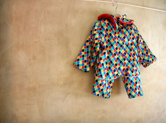 Harlequin baby kids fancy dress for dress up parties by PABUITA