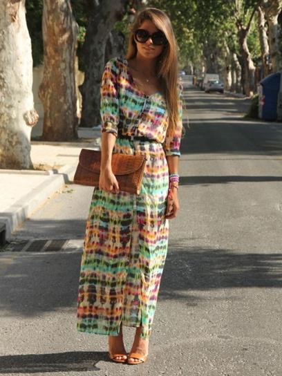 Lovely.: Long Dresses, Pretty Dresses, Summer Dresses, Boho Chic, Maxi Dresses, Boho Dresses, Ties Dyes, The Dresses, Cool Dresses