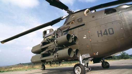 Les deux hélicoptères Agusta A109 en version médicalisée que la Belgique a mis à la disposition de la France pour son opération Serval au Mali