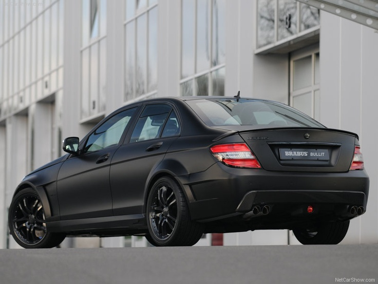 Brabus Bullit Black Arrow Mercedes C300 Mercedes Benz C300 Benz