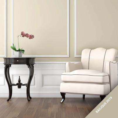"""Se você é amante de mobílias antigas e clássicas, se inspire no tom """"Bailique"""" da coleção Encantar da Tintas Iquine. Com essa tonalidade, a decoração da sua casa ganhará um toque suave e elegante."""