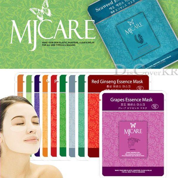 6PCS Skin Care Essence Face Mask Sheet Moisture Essence Facial Mask Pack #MJCARE #KoreaCosmetics