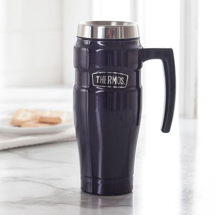 Thermos King Travel Mug with Handle (Midnight Blue)