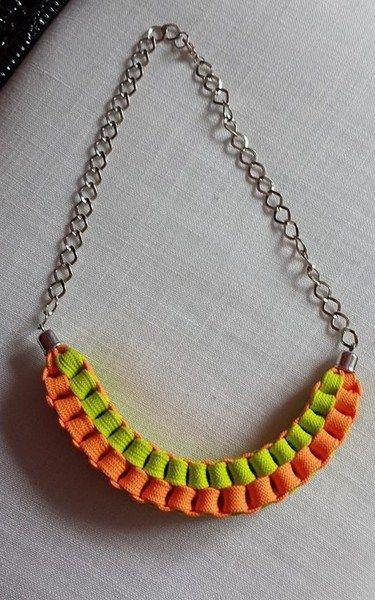 collar fluor de ARTPERSONAL por DaWanda.com