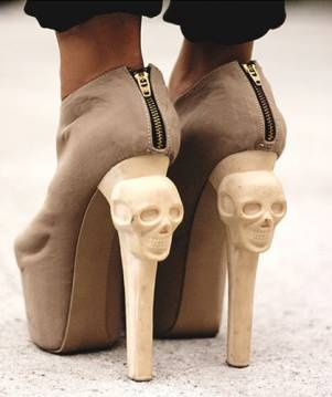 .: Killers Heels, Fashion Shoes, Style, Highheels, Skull Shoes, Girls Fashion, High Heels, Skull Heels, Convers Starters
