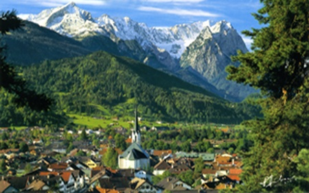 Garmisch, Germany..I have been here, really missing Germany lately