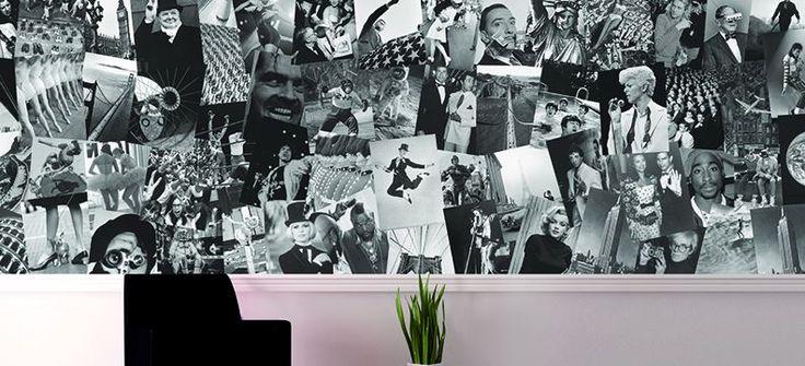 Noordwand - Creative collage wallpaper Verkrijgbaar bij Deco Home Bos in Boxmeer. www.decohomebos.nl