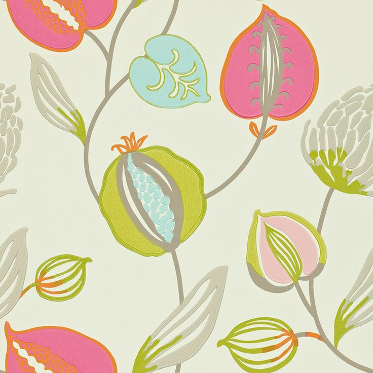 Harlequin Wallpaper Folia Tembok Collection 110306