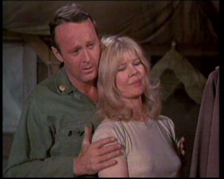 Margaret Houlihan and Frank Burns. MASH.