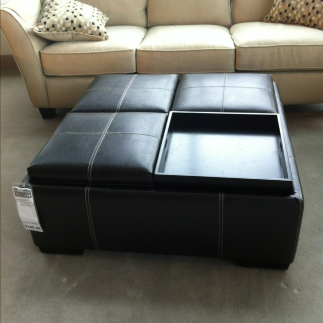 Find This Pin And More On Ottomans. Useful Coffee Table
