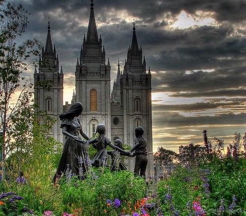 Salt Lake LDS Temple familiesareforever