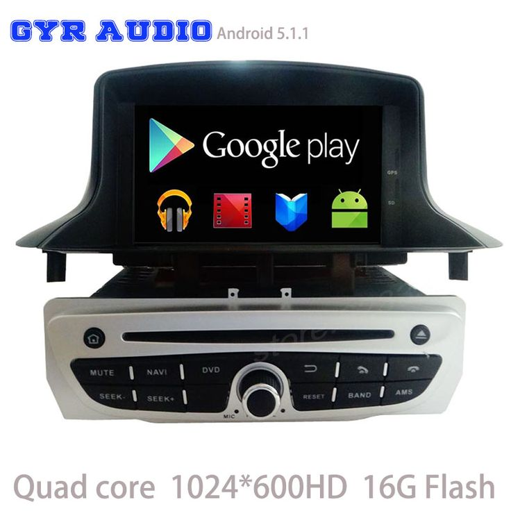 Quad core 1024*600 android 5.1 Car dvd GPS player for Renault Megane 3 III Fluence 2009-2016 with WIFI 3G usb BT mirror link #Affiliate