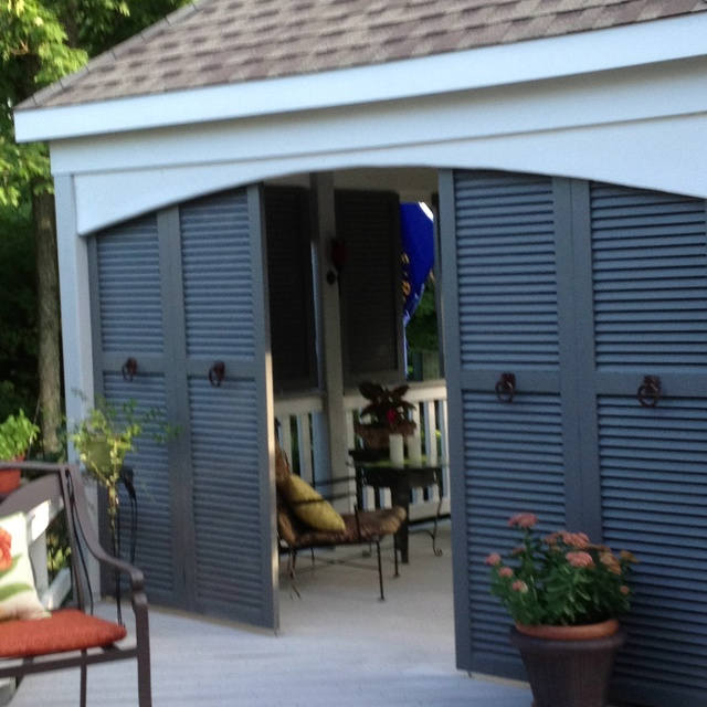 96 Best Images About Alternative Uses For Shutters On Pinterest Shutter Wall Tropical