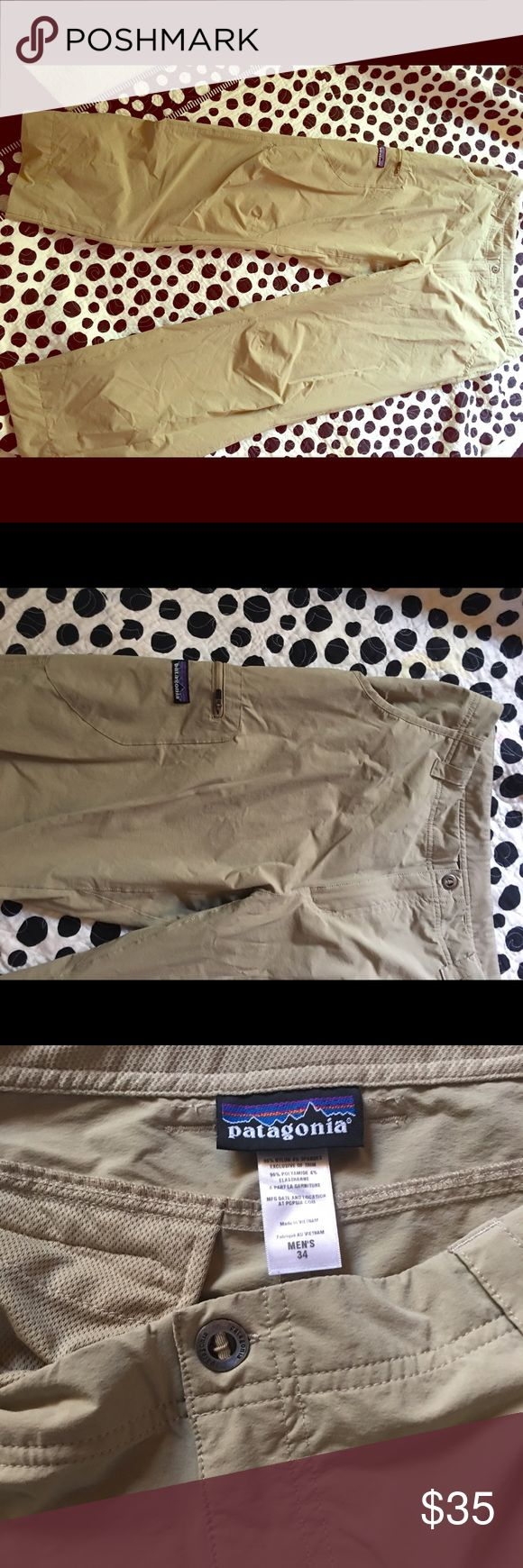 Men's Patagonia pants Like new men's size 34 Patagonia wind pants. Patagonia Pants