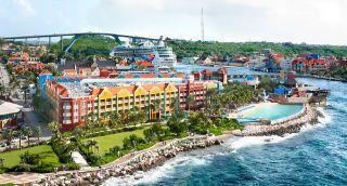 Marriott Hotel Renaissance Curacao Resort In Willemstad Curaçao - 10 min lopen van Willemstad