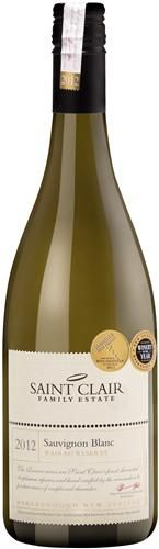 Saint Clair Wines Sauvignon Blanc Marlborough New Zealand