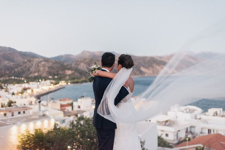 Seaside wedding in the South of Crete.