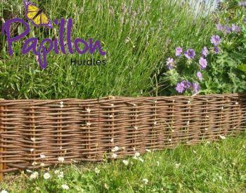 L2m Woven Willow Hurdle Edging - H20cm - by Papillon™