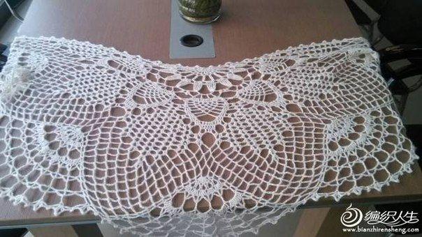 Delicadezas en crochet Gabriela: Capa ganchillo