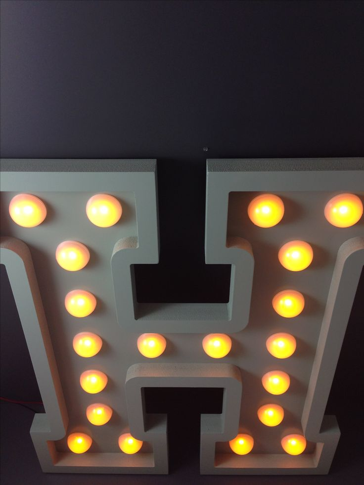 LETTRE DECO LED (BULB LETTER)