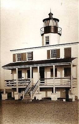 St Marys City Maryland MD Point Lookout Lighthouse Collectible Vintage Postcard