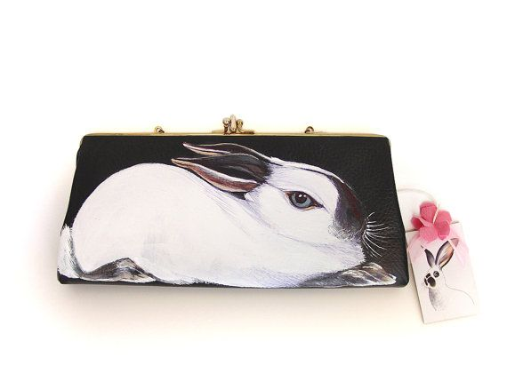 New by NYhop  California Rabbit handpainted vintage by NYhop, $140.00