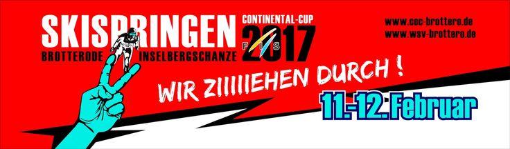 Auch 2017 wieder Continentalcup im Skispringen auf der Inselbergschanze in Brotterode/Thüringen