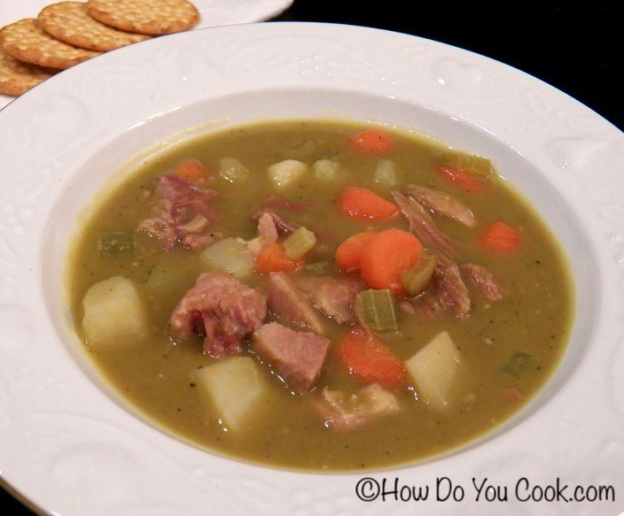 ham and split pea soup with caraway three many cooks ham and split pea ...