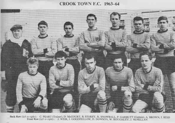 Crook Town team group in 1963-64.