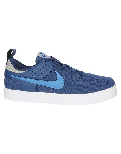 NimbleBuy: NIKE blue canvas Sneakers(BEST BUY)