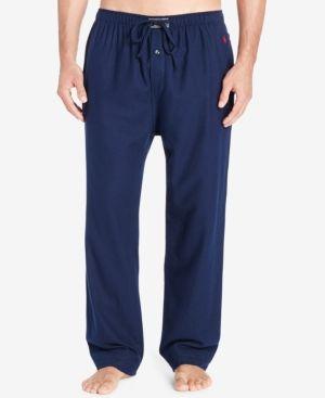 Polo Ralph Lauren Men's Flannel Pajama Pants - Cruise Navy XL
