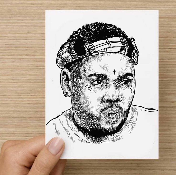 Kevin Gates BWA Valentines / Anniversary / Birthday / Christmas Card // Babes & Gents //  www.babesngents.com