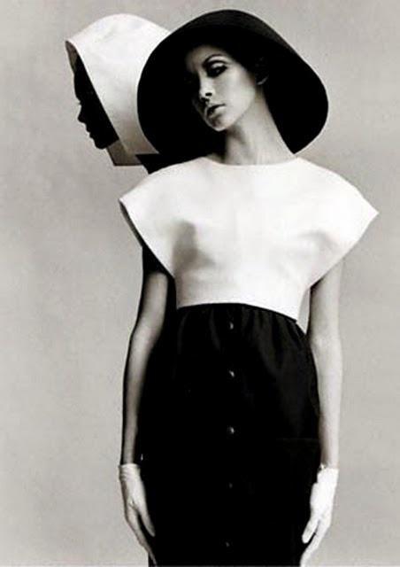 Balenciaga in Harper's Bazaar, March 1968
