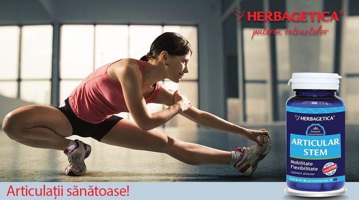 Articular Stem de la Herbagetica este o formulă naturală concepută pentru a reface ţesutul cartilaginos din articulaţii şi pentru a reduce durerile articulare.