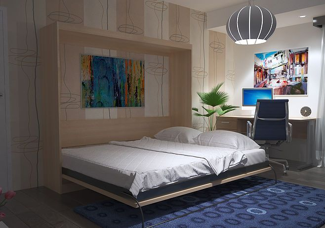 Space Saving Wall Beds And Murphy Beds In Australia In 2020 Bed Wall Murphy Bed Bed