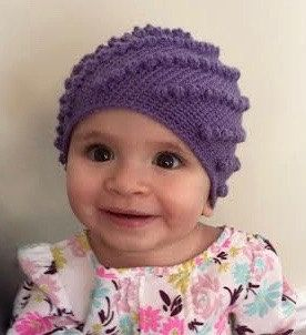 This is a crochet pattern for making the hat shown in the picture. The pattern includes 3 sizes, 3-6 months, 1 year old-child, and adult.  This pattern uses sock weight yarn, also called super fine yarn. This pattern is appropriate for all skill levels of crocheters.  Happy Crocheting